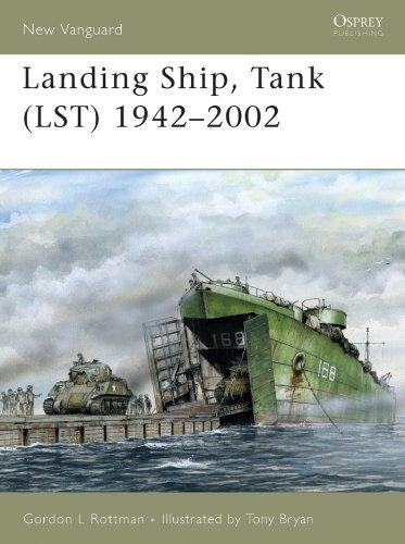 2002 Ship - Landing Ship, Tank (LST) 1942-2002 (New Vanguard Book 115)