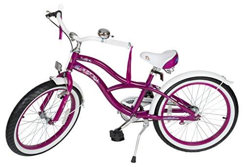 Best savings for Bikestar 20 Inch (50.8cm) Kids Children Bike Bicycle – Cruiser – Lilac / Purple
