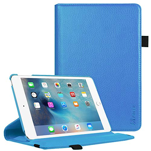 Fintie iPad Mini 4 Case - Multiple Angles Stand Case with Smart Cover Auto Sleep/Wake Feature for Apple iPad Mini 4 (2015 Release), Blue