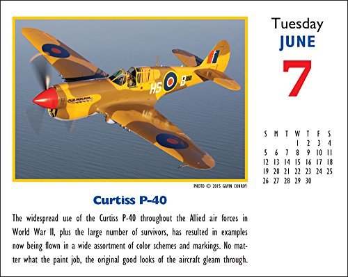 2016 Golden Age Of Flight Desk Calendar Buy Online In