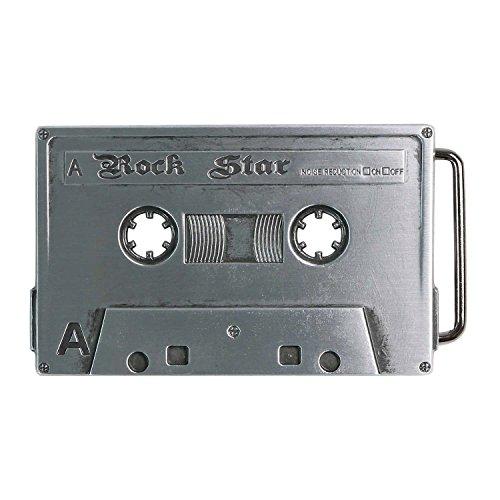 Handmade Buckle (Landisun Handmade Rock Star Music Tape Belt)