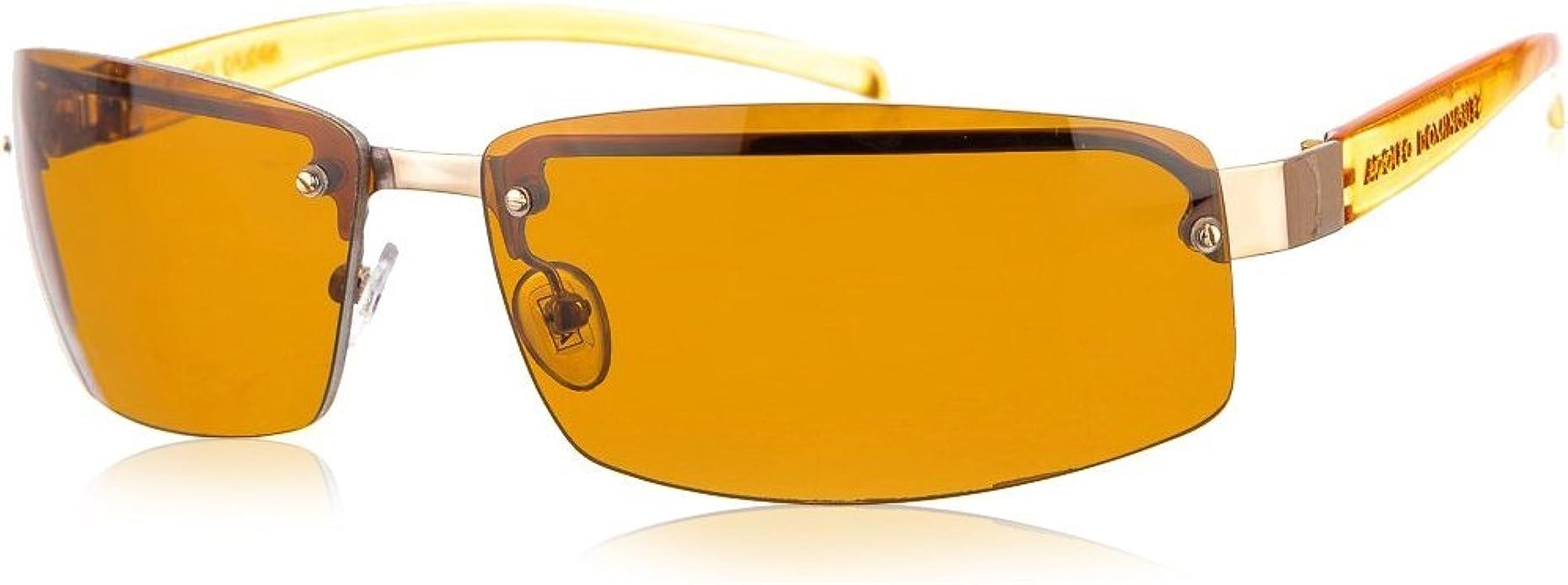 Adolfo Dominguez Gafas de Sol AD14008-101 (68 mm) Plata/Naranja: Amazon.es: Zapatos y complementos