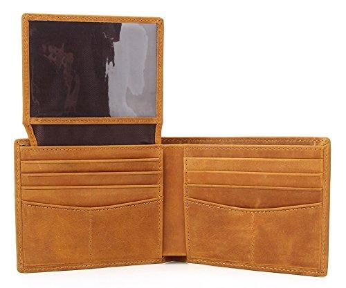 Wardeindesign Men's Leather Wallet Bifold RFID Designer engraved - and leather key fob by Wardeindesign (Image #2)