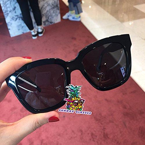 86eb3350b2c Amazon.com  New Gentle Women Sunglasses V Brand Dreamer Hoff 01 for gental Monster  Sunglasses-Black Frame Black Lenses  Camera   Photo