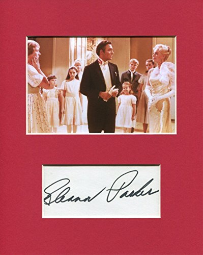 Eleanor Parker The Sound of Music Rare Signed Autograph Photo Display from HollywoodMemorabilia