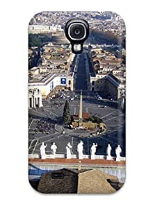 Hot Case Cover Protector For Galaxy S4- City Of Rome 8405538K22413781