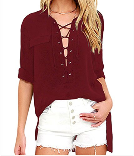 yeeatz-burgundy-long-sleeve-lace-up-topsizes
