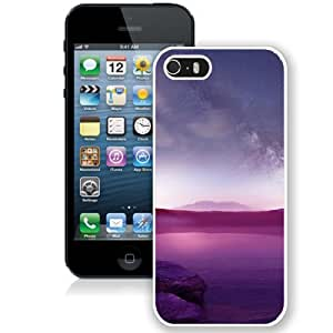 Beautiful Unique Designed Cover Case For iPhone 5S With Frozen Ice White Phone Case