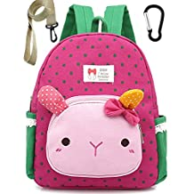 Infant Cotton Toddler Kids Backpack Rucksack Small School Bags Cat for Girls (Pink) Under 3 Year
