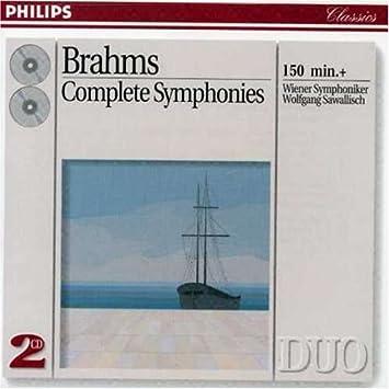 J. Brahms, Wolfgang Sawallisch, Wiener Symphoniker - Brahms: The ...