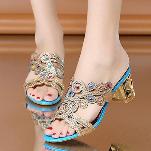 ada9c27b72771 Jewelled 8 Za Glitter Size Diamante Wedding Open Summer Low For Toe Sparkly   Lolittas Sliver Glitter Diamante Sandals for Women Ladies