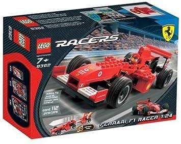 Lego Racers Ferrari F1 Racer 1 24 Amazon De Spielzeug