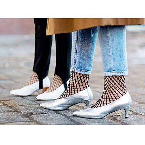 8daaf6e5ae3f4 2 Pairs Women's Fishnet Ankle Socks-The Most Fashionable Outfits Skills For Fishnet  Socks