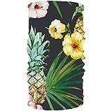 Headband Flower Pineapple Headwear Sport Sweatband Yoga Head Wrap for Men Women