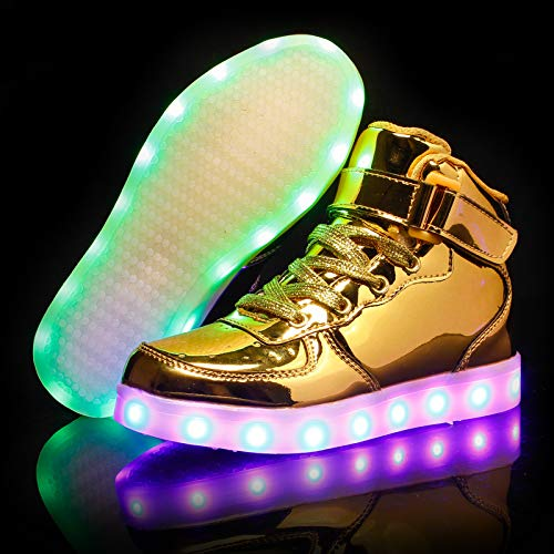 meo lnc Led Shoes Kids Fashion Sneakers Sport Shoes Light Up Shoes USB Charging