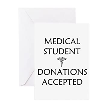 Amazon cafepress med student donations accepted greeting cafepress med student donations accepted greeting card note card birthday card m4hsunfo