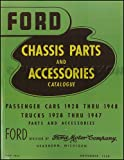 truck accessories book - 1928-1948 Ford Green Bible Mechanical Parts Book Reprint