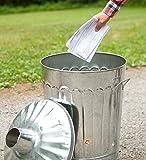 Plow & Hearth Galvanized Metal Garden Incinerator