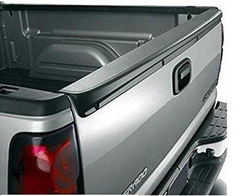 (Tailgate Spoiler For 99-06 Chevy Silverado GMC Sierra ABS Plastic Black)