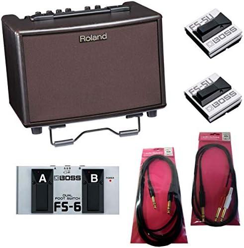 Roland/AC-33-RW Acoustic Chorus 【BOSS FS-6/FS-5Uつき!】【スタンダードセット】