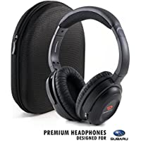 Premium Headphones for Suburu with Hard Shell Travel Case by Drive Audio - Headset Works with Crosstrek, Forester, Outback & Tribeca