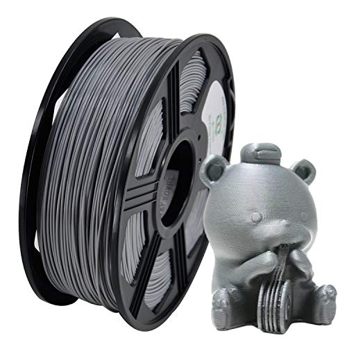 (YOYI PLA 3D Printer Filament 1.75mm 1KG Spool(2.2 lbs), 100% Virgin Raw Material, Dimensional Accuracy +/- 0.03 mm,Reach Certificate,Eco-Friendly (Gray))