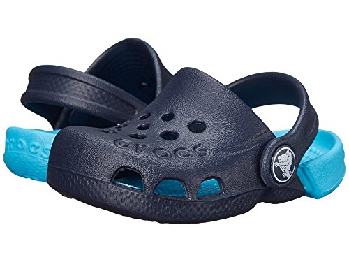 Price comparison product image Crocs Electro Clog,  Navy / Electric Blue,  9 M US Toddler