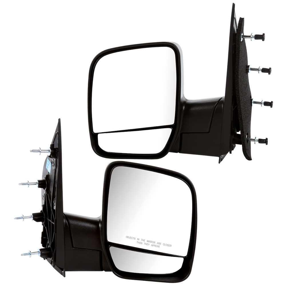 Prime Choice Auto Parts KAPFO1320253PR Pair of Manual Folding Side Mirrors