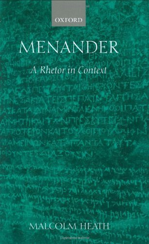Download Menander: A Rhetor in Context Pdf
