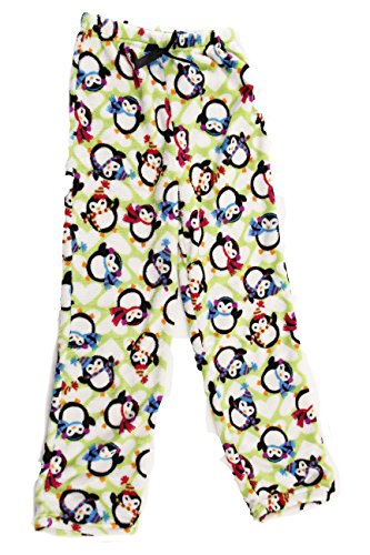 45500-10128-10-12 Just Love Plush Pajama Pants for Girls by Just Love