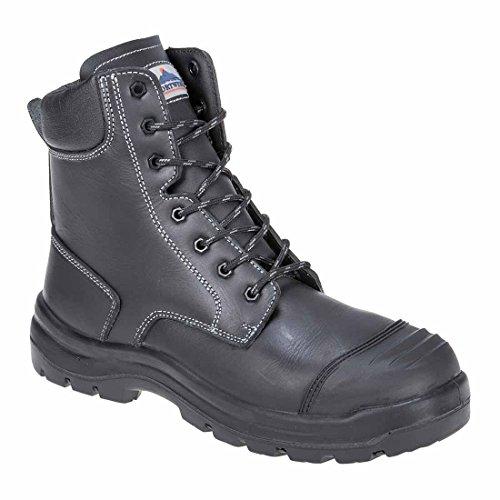 SUW–Eden Arbeit Sicherheit Workwear Boot S3HRO CI HI FO, EU 45 - UK 10.5, schwarz, 1 schwarz