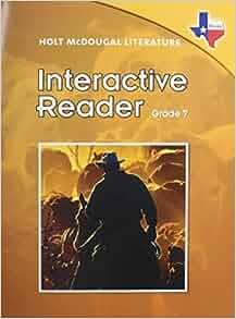holt mcdougal literature grade 8 pdf