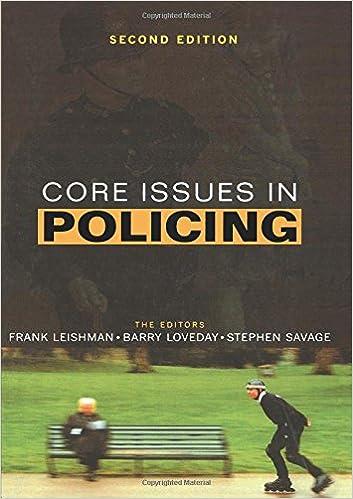 Descarga de libros de texto de electrónicaCore Issues in Policing 058236986X RTF