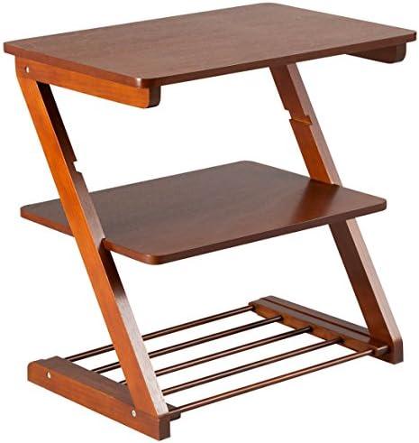 Side Table with Adjustable Shelf by OakRidgeTM