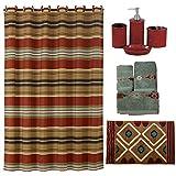 HiEnd Accents Calhoun Bath Collection Terra Cotta