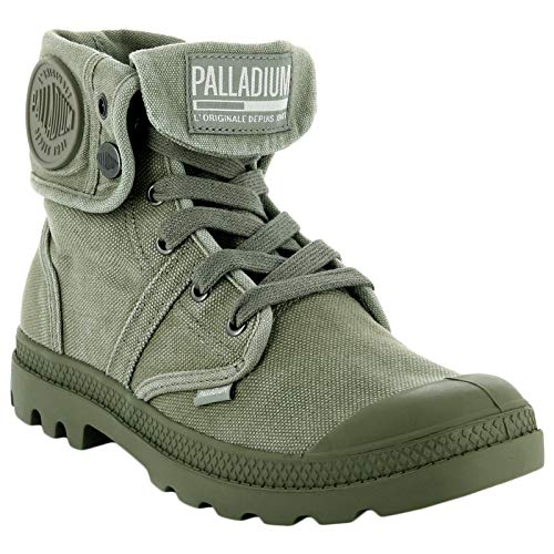 Palladium Olive Vetiver Hohe Burnt Sneaker Herren Pallabrousse Baggy Grau rOqYwr8S4