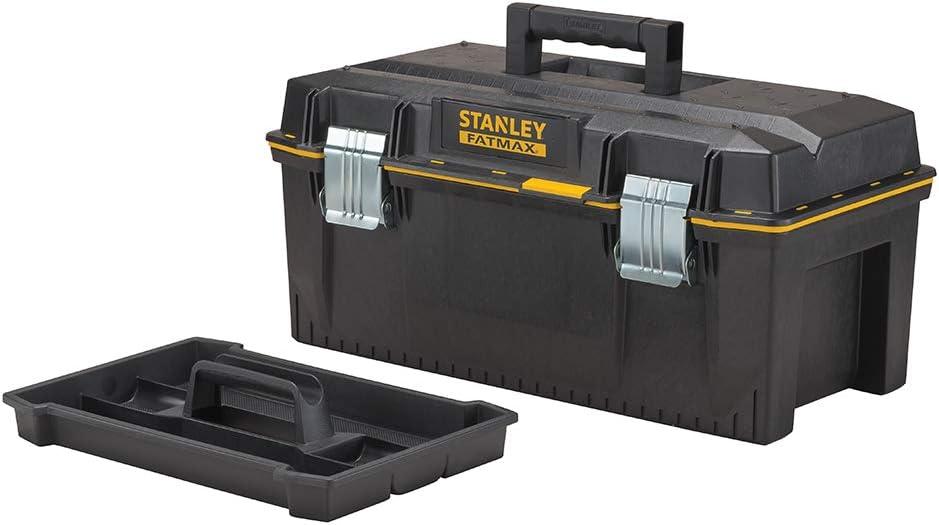 """Stanley FatMax 1-93-935 Imperméable Boîte à outils 28/"""" bricolage outil de travail boîte étui rangement"""