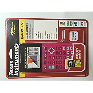 TEXAS INSTRUMENTS TI-84 PLUS CE DUMMIES INCLUDED PINK