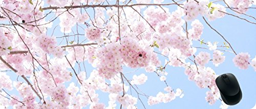 Increase the Extension and Widening of the Game Mouse Pad,Cherry blossoms