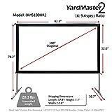 Elite Screens Yard Master 2, 100 inch Outdoor