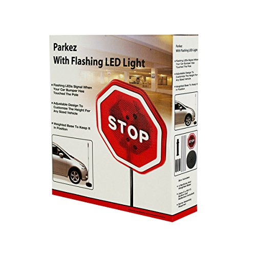 Parking Garage Sensor Lights: PARKEZ Stop Sign FLASHING LED LIGHT Car Garage Sign