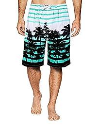 APTRO Men's Quick Dry Swim Trunks Palm Beach Swim Shorts