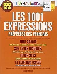 Les 1001 expressions préférées des Français : Livre jeux