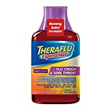 Theraflu ExpressMax Syrup for Flu, Cough and Sore Throat, Berry Cough Syrup