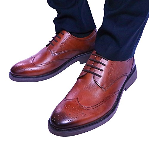 INMAKER-No-Tie-Dress-Shoe-Laces-for-Men-Silicone-Waxed-Thin-Oxford-Round-Shoe-Laces