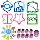 Sandwich Cutters for Children Kids Cookie Cutter,Bread Cutter,Vegetable Cutter Shapes Set for Kids Food(25pcs))