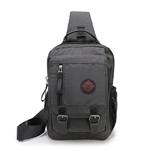 Travel Outdoor Computer Backpack Laptop Bag (Black) - 6