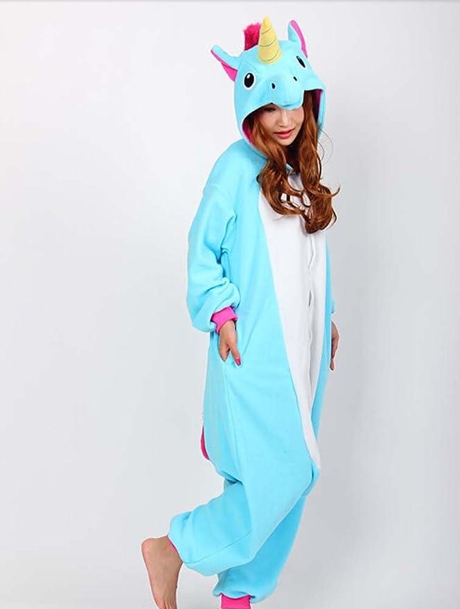 67790b3cdd015 Kigurimi Pyjama Licorne Bleue Pour Adulte Mixte Taille XL. Très Doux Très  Confortable. Expédié depuis Paris.  Amazon.fr  Jeux et Jouets