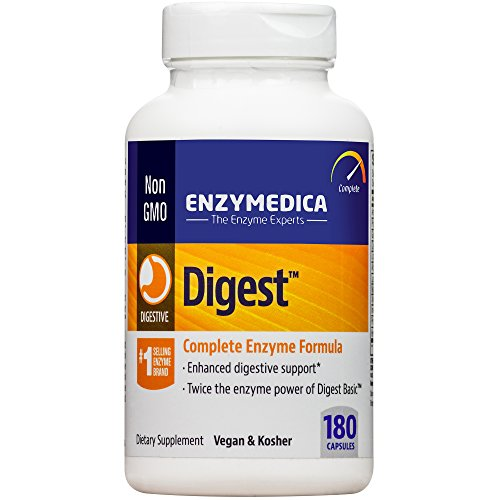 Enzymedica – Digest, Complete Digestive Enzyme Formula, 180 Capsules (FFP)
