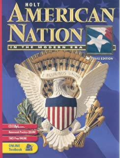 Amazon holt american nation in the modern era chapter and holt american nation texas student edition grades 9 12 in the modern era 2003 fandeluxe Gallery